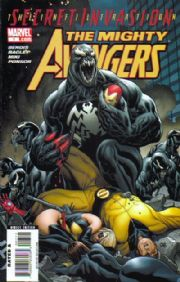 Mighty Avengers #7 Secret Invasion Marvel comic book